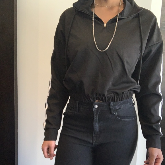 Women's Bomber Crop Top (Garage)